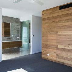 M A S T E R / E N S U I T E   A place to escape and a room the kids cant (usually) destroy 👍  #DLC #design #construct #build #bathroom #ensuite #timber #blackbutt