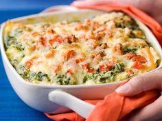 lasagna met spinazie en zalm