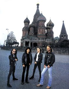 Lars Ulrich, Kirk Hammett, Jason Newsted & James Hetfield