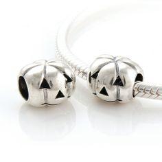 CLFJ203 925 Sterling Silver Pumpkin Pandora Charms beads Jewelry Pandora Halloween