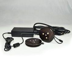 Nora Lighting 3-Pack 2.75-In Plug-In Puck Light Nmpk2-3Led30bz