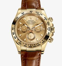 Love Leather Straps this the only Rolex I could wear..