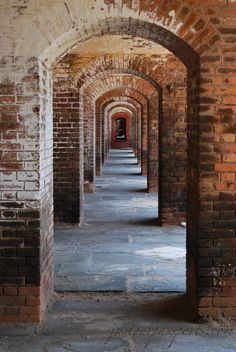 Dry Tortugas National Park, Florida - This is Fort Jefferson which...