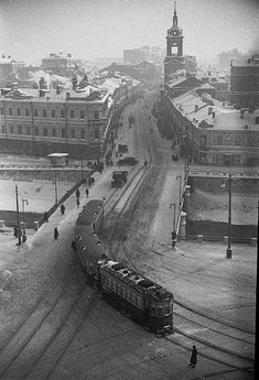 Winter in 1920s Moscow