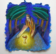 The Cup of Suffering -Paintings - Gallery - Mynheer-art: the fine art site of painter and sculptor Nicholas Mynheer