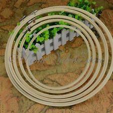 Tambour à broder en bambou cercle cadre broderie mercerie diamètre 13/17/21cm