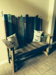 DIY Recycled #Pallet #Bench | 101 Pallets