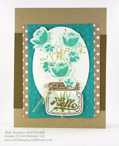Stampin' Up! Jar of Love Bundle Swap Samples (DOstamping with Dawn)