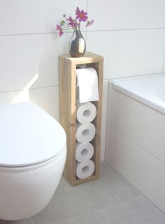 Hochwertig Klopapierhalter   Toilettenpapierhalter, Klopapierhalter   Ein  Designerstück Von KlausHeilmann Bei DaWanda Basement Bathroom, Bathroom