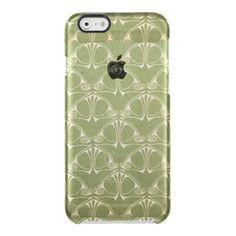 Art nouveau,deco,chic,vintage,antique,elegant,chic uncommon clearly™ deflector iPhone 6 case