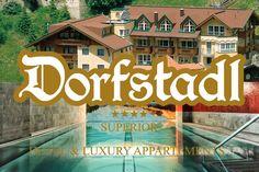 Urlauben im exklusiven 4 Sterne S Luxury Appartement mit Hallenbad in Kappl bei Ischgl  Ihr Hotel direkt im Dorfzentrum von Kappl, an der Sonnenseite des Paznaun, direkt an der Skipiste und 120 m oberhalb der Kappler Bergbahnen.