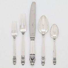 Georg Jensen Acorn Sterling Silver Flatware | Gump's. in my dreams