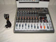 Mesa de mezclas Behringer XENYX X1222USB-buen estado!!