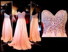 Beading Prom Dresses, Sweetheart Floor-Length Evening Dresses, Real Made Prom Dresses,Chiffon Sequins Evening Dresses, Charming Prom Dresses,