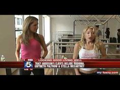 Tracy Anderson Method Gwyneth Paltrow's Workout - YouTube