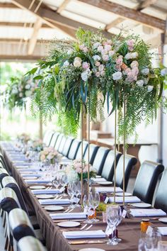 Winery wedding tablescapes and centrepieces | Stones of the Yarra Valley | Creative direction and wedding styling by One Wedding Wish #wedding #weddingcentrepieces #stonesoftheyarravalley