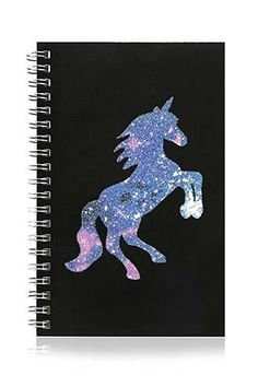 Glitter Galaxy Unicorn Notebook Follow @ pin addict