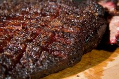 Texas Brisket from the grill