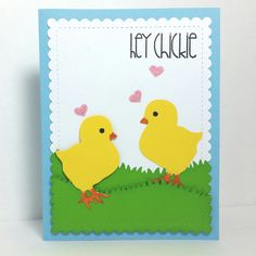 Spring Chick Love - Scrapbook.com
