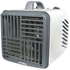 Optimus Mini Compact Utility Heater With Thermostat (pack of 1 Ea)