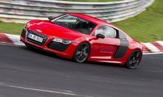8 minute 9 second Nurburgring lap in an electric Audi R8 E-Tron. Impressive.