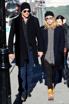 Sundance Chic: Suki Waterhouse stayed warm in our Hilla Sweater in Rajah from the Fall 2013 Ready to Wear Collection while at Sundance with love Bradley Cooper.