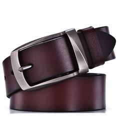 Cheap genuine leather belt men, Buy Quality genuine leather belt directly from China leather belt men Suppliers: DINISITON designer belts men high quality genuine leather belt man fashion strap male cowhide belts for men jeans cow leather Black Leather Belt, Leather Belts, Cow Leather, Cowhide Leather, Vintage Leather, Men's Belts, Black Belt, Real Leather, Leather Jacket