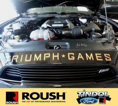 Don't miss The 2015 Triumph Games on NBC Sports on October 17th. Tindol Ford ROUSH is honored to be apart of this event by providing the RS2 Mustangs for the Motorsports Challenge! Learn more at http://www.2015triumphgames.com or check out the custom RS2  Mustangs for sale at Tindol at http://tindolford.com/inventory/view/New/Custom2/Roush/.
