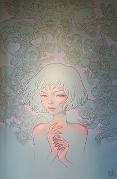 Artwork by Audrey Kawasaki