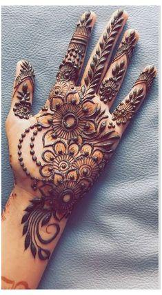 Henna Hand Designs, Mehndi Designs Finger, Latest Henna Designs, Floral Henna Designs, Simple Arabic Mehndi Designs, Mehndi Designs Book, Mehndi Designs 2018, Mehndi Designs For Beginners, Mehndi Designs For Girls