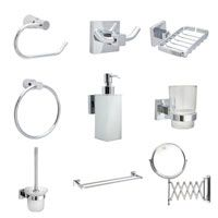 bathroom accessories best chrome bathroom accessories from the sink warehouse