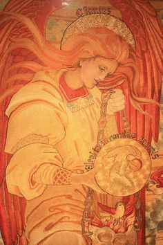 Salvation of Mankind (detail) by Phoebe Anna Traquair 1886 to 1893 - Phoebe Anna Traquair - Wikipedia, the free encyclopedia