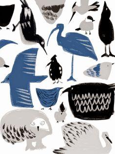 Desafinado: birds