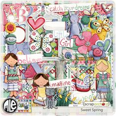 Sweet Spring by mle Card