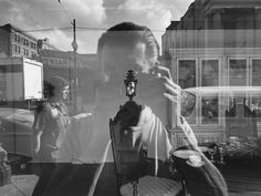 Mirror / Mirror - Lee Friedlander, New Orleans, © Lee Friedlander, courtesy Fraenkel Gallery, San Francisco Lee Friedlander, Window Photography, A Level Photography, Reflection Photography, City Photography, Landscape Photography, Street Photography People, London Street Photography, Contemporary Photography