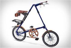 I dig this cool foldable bike.