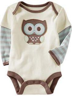 Graphic 2-in-1 Bodysuits for Baby | Old Navy