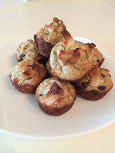Banana Oat Greek Yogurt Muffins | Zia's Kitchen