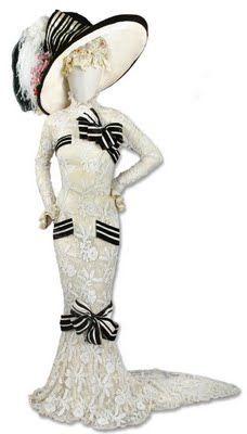 "Audrey Hepburn's  Ascot Dress in ""My Fair Lady"" (1964)."