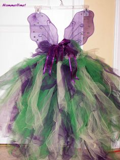 Pretty diy fairy costume