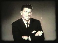 Ronald Reagan campaigns for Barry Goldwater in 1964