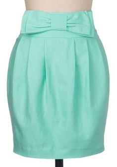 Tiffany Blue skirt!