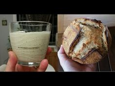 How to make a sourdough starter - full demonstration of an easy, low was...