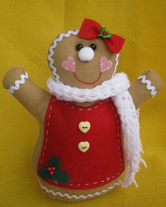 (●̮̮̃•̃)_ Galletas ...... (Algunos con Moldes) ..........Para Estrellita Blanca ❀◕‿◕❀ Christmas Crafts, Christmas Ornaments, Felt Crafts, Christmas Stockings, Gingerbread, Projects To Try, Jar, Holiday Decor, Handmade
