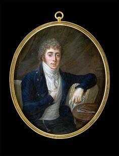 Carl Friedrich Demiani Gentleman on a Sofa (Self-Portrait?) 1799