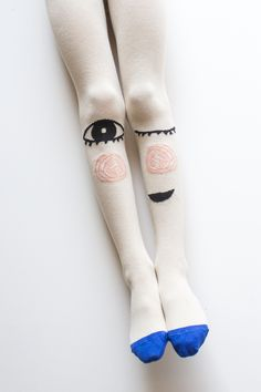 Cheeky Grin tights by Braveling fun kids accessories label for fall 2015