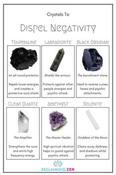 In LOVE with black tourmaline and selenite right now! Rid negativity