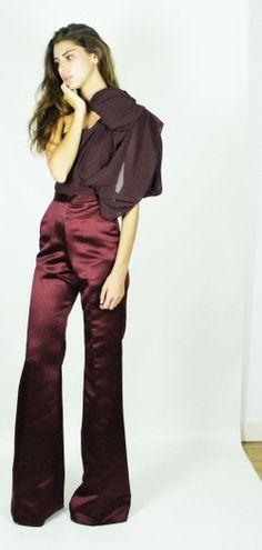 Kirsty Doyle/Brianna Duchess & Georgette Silk Jumpsuit #aw13