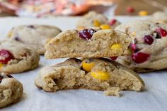 Salted Brown Butter M and M Cookies