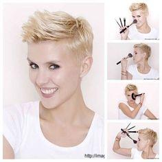 Coole mix van korte haarstijlen voor de donderdag